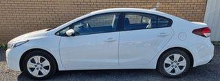 2017 Kia Cerato YD MY18 S White 6 Speed Sports Automatic Sedan.