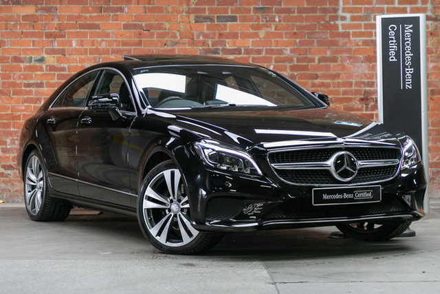 Certified Pre-Owned Mercedes-Benz CLS-Class C218 806MY CLS250 d Coupe 7G-Tronic + Mulgrave, 2015 Mercedes-Benz CLS-Class C218 806MY CLS250 d Coupe 7G-Tronic + Black 7 Speed Sports Automatic