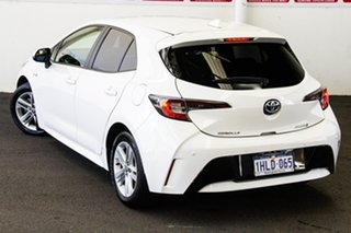 2018 Toyota Corolla ZWE211R Ascent Sport Hybrid Glacier White Continuous Variable Hatchback.