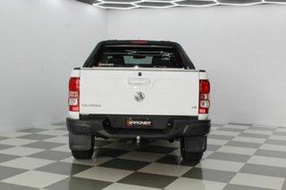2014 Holden Colorado RG MY14 LX (4x4) White 6 Speed Manual Crew Cab Pickup