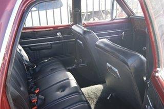 1970 Holden Kingswood HG Burgundy 3 Speed Manual Sedan