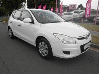 2010 Hyundai i30 FD SX White 4 Speed Automatic Hatchback.
