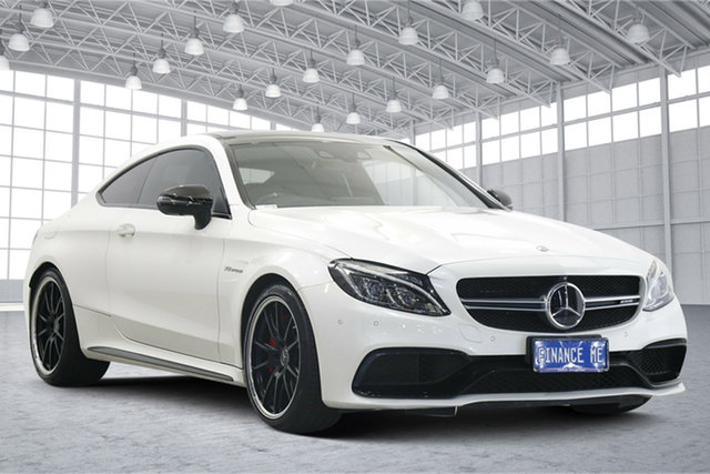 Used Mercedes-Benz C-Class C205 C63 AMG SPEEDSHIFT MCT S Victoria Park, 2016 Mercedes-Benz C-Class C205 C63 AMG SPEEDSHIFT MCT S White 7 Speed Sports Automatic Coupe