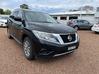 2015 Nissan Pathfinder R52 MY15 ST X-tronic 2WD Black 1 Speed Constant Variable Wagon.