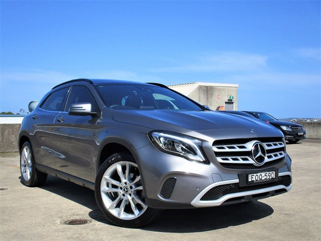 Used Mercedes-Benz GLA-Class GLA180 DCT Urban Edition Brookvale, 2019 Mercedes-Benz GLA-Class GLA180 DCT Urban Edition Silver 7 Speed Sports Automatic Dual Clutch