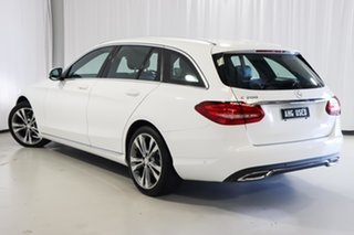 2016 Mercedes-Benz C-Class S205 806+056MY C200 Estate 7G-Tronic + White 7 Speed Sports Automatic.