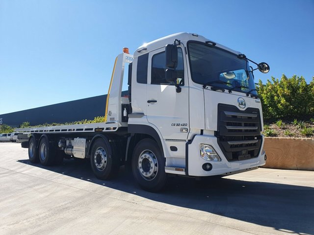 New UD Truck Harristown, 2021 UD CG 32 420 CG 32 420 Truck White Tilt Tray