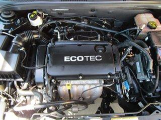 2012 Holden Cruze JH Series II MY12 CDX Black 6 Speed Sports Automatic Sedan