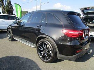 2017 Mercedes-Benz GLC-Class X253 GLC43 AMG 9G-Tronic 4MATIC Black 9 Speed Sports Automatic Wagon.