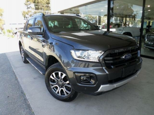 Used Ford Ranger PX MkIII MY19 Wildtrak 3.2 (4x4) Wangaratta, 2019 Ford Ranger PX MkIII MY19 Wildtrak 3.2 (4x4) Grey 6 Speed Automatic Double Cab Pick Up