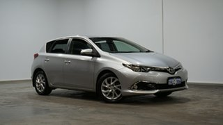 2016 Toyota Corolla ZRE182R Ascent S-CVT Silver 7 Speed Constant Variable Hatchback.