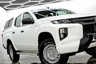 2018 Mitsubishi Triton MR MY19 GLX ADAS White 6 Speed Automatic Double Cab Pick Up.