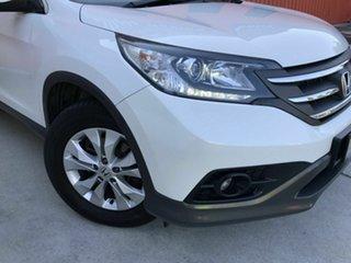 2014 Honda CR-V RM MY14 DTi-S 4WD White 5 Speed Automatic Wagon