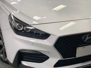 2021 Hyundai i30 PD.V4 MY21 N Line D-CT Premium Ceramic White 7 Speed Sports Automatic Dual Clutch.