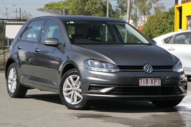 Used Volkswagen Golf 7.5 MY17 110TSI DSG Rocklea, 2017 Volkswagen Golf 7.5 MY17 110TSI DSG Tungsten Silver/cloth 7 Speed Sports Automatic Dual Clutch