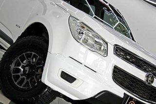 2014 Holden Colorado RG MY14 LX (4x4) White 6 Speed Manual Crew Cab Pickup.