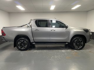 2021 Toyota Hilux GUN126R SR5 Double Cab Silver 6 Speed Sports Automatic Utility