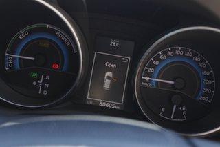 2017 Toyota Corolla ZWE186R Hybrid E-CVT Glacier White 1 Speed Constant Variable Hatchback Hybrid