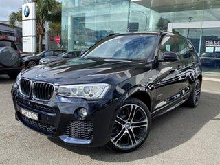 2016 BMW X3 F25 MY17 Update xDrive20d Carbon Black Metallic 8 Speed Automatic Wagon.