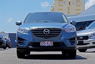 2017 Mazda CX-5 KE1072 Maxx SKYACTIV-Drive FWD Blue 6 Speed Sports Automatic Wagon.