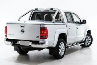 2015 Volkswagen Amarok 2H MY15 TDI420 4Motion Perm Highline Silver 8 Speed Automatic Utility.