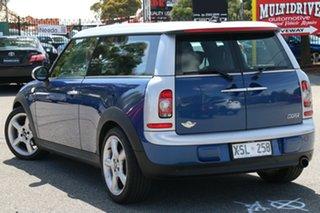 2008 Mini Clubman R55 Cooper Chilli Blue 6 Speed Sports Automatic Wagon.