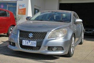 2010 Suzuki Kizashi FR Sport AWD Silver Continuous Variable Sedan