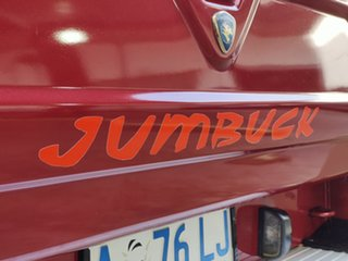 2007 Proton Jumbuck GLi Red 5 Speed Manual Utility