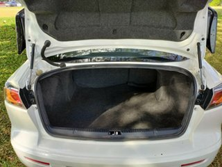 2017 Mitsubishi Lancer CF MY17 Black Edition (es) White & Black 6 Speed CVT Auto Sequential Sedan