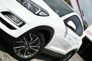 2020 Hyundai Tucson TL4 MY21 Active X (2WD) White 6 Speed Manual Wagon.