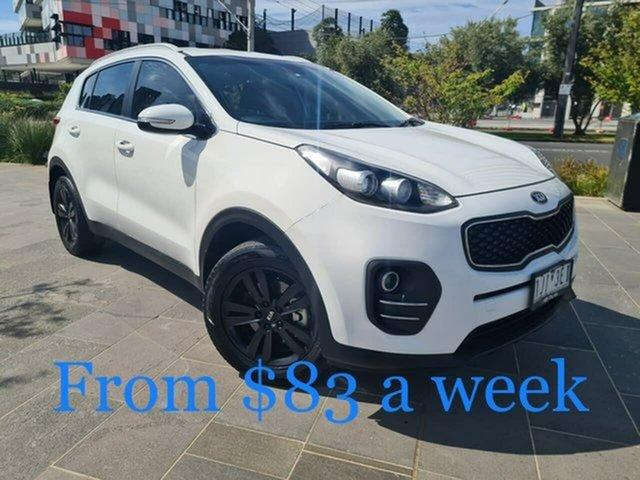 Used Kia Sportage QL MY16 Si 2WD South Melbourne, 2016 Kia Sportage QL MY16 Si 2WD White 6 Speed Sports Automatic Wagon