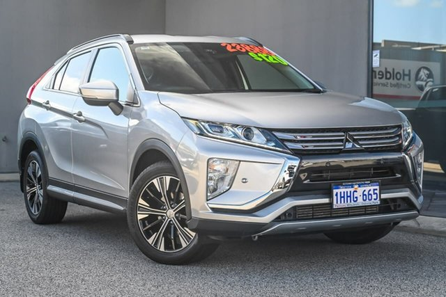Used Mitsubishi Eclipse Cross YA MY18 LS 2WD Osborne Park, 2018 Mitsubishi Eclipse Cross YA MY18 LS 2WD Sterling Silver 8 Speed Constant Variable Wagon