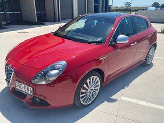 2012 Alfa Romeo Giulietta Series 0 MY12 Distinctive TCT Red 6 Speed Sports Automatic Dual Clutch.