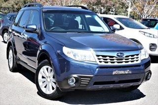 2011 Subaru Forester S3 MY11 XS AWD Blue 5 Speed Manual Wagon.