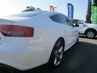 2010 Audi A5 8T MY10 Sportback S Tronic Quattro White 7 Speed Sports Automatic Dual Clutch Hatchback