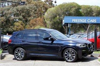 2018 BMW X3 G01 xDrive30i Steptronic Carbon Black 8 Speed Automatic Wagon.