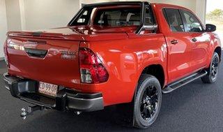 2020 Toyota Hilux GUN126R Rogue Double Cab Orange 6 Speed Sports Automatic Utility.