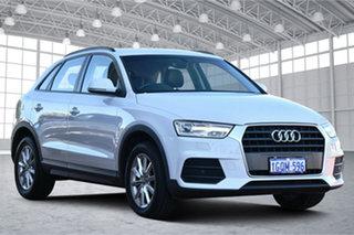 2018 Audi Q3 8U MY18 TFSI S Tronic Quattro Sport White 7 Speed Sports Automatic Dual Clutch Wagon.