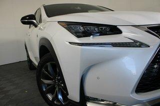 2015 Lexus NX AGZ15R NX200t AWD F Sport White 6 Speed Sports Automatic Wagon.