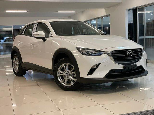 New Mazda CX-3 DK4W7A Maxx SKYACTIV-Drive i-ACTIV AWD Sport Waitara, 2021 Mazda CX-3 DK4W7A Maxx SKYACTIV-Drive i-ACTIV AWD Sport White 6 Speed Sports Automatic Wagon