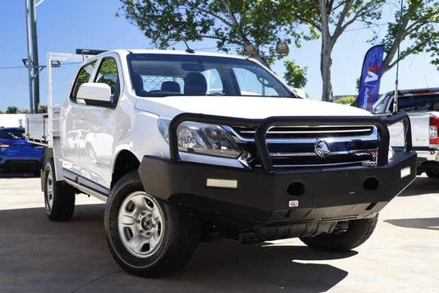 Used Holden Colorado RG MY17 LS Crew Cab Toowoomba, 2017 Holden Colorado RG MY17 LS Crew Cab White 6 Speed Sports Automatic Cab Chassis
