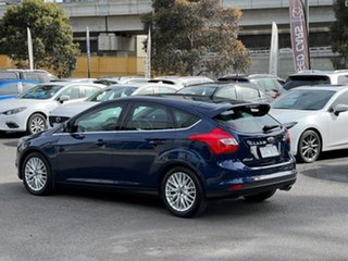 2012 Ford Focus LW Sport PwrShift Ink Blue 6 Speed Sports Automatic Dual Clutch Hatchback