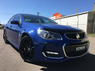 2015 Holden Commodore VF Series II SS V Redline Blue Sports Automatic.