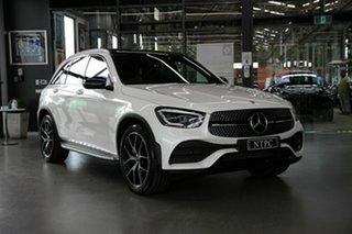 2019 Mercedes-Benz GLC-Class X253 800MY GLC300 9G-Tronic 4MATIC White 9 Speed Sports Automatic Wagon
