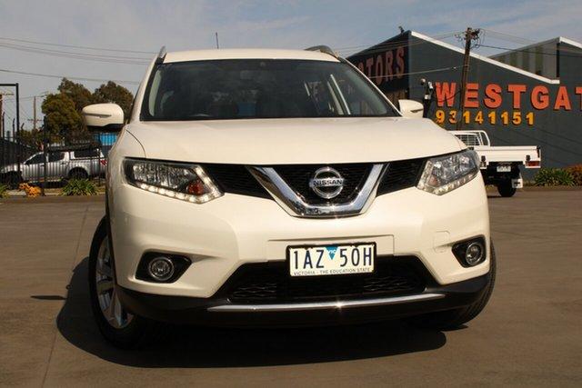 Used Nissan X-Trail T32 ST-L (4x4) West Footscray, 2014 Nissan X-Trail T32 ST-L (4x4) White Continuous Variable Wagon