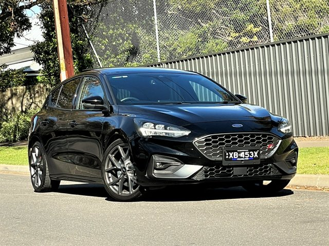Used Ford Focus SA 2021MY ST Hyde Park, 2020 Ford Focus SA 2021MY ST Black 7 Speed Automatic Hatchback