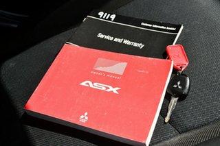 2011 Mitsubishi ASX XA MY11 2WD Black 5 Speed Manual Wagon