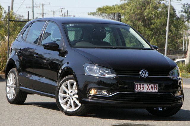 Used Volkswagen Polo 6R MY17.5 81TSI DSG Urban+ Rocklea, 2017 Volkswagen Polo 6R MY17.5 81TSI DSG Urban+ Deep Black 7 Speed Sports Automatic Dual Clutch