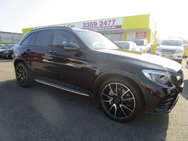 Used Mercedes-Benz GLC-Class X253 GLC43 AMG 9G-Tronic 4MATIC Kedron, 2017 Mercedes-Benz GLC-Class X253 GLC43 AMG 9G-Tronic 4MATIC Black 9 Speed Sports Automatic Wagon