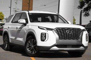 2020 Hyundai Palisade LX2.V1 MY21 2WD White 8 Speed Sports Automatic Wagon.